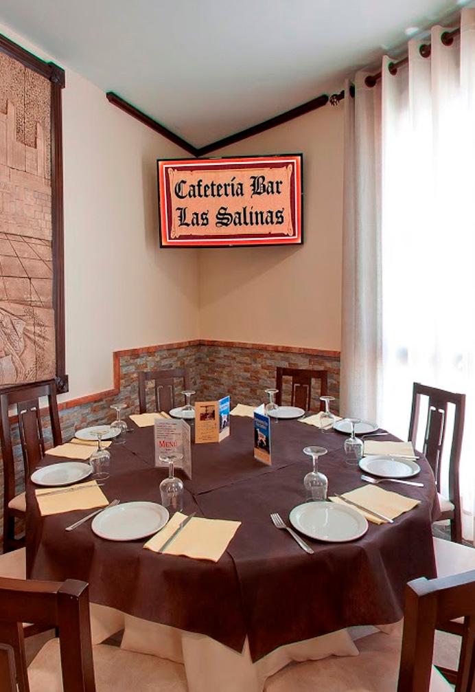 restaurante las salinas rute comedor
